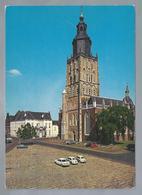 NL.- ZUTPHEN. St. Walburgskerk Met Stadhuis. Old Cars. 1976 - Kerken En Kathedralen