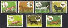BULGARIA - 1985 - Serie Completa Usata: Yvert 2975/2981; 7 Valori; Cani Da Caccia Di Razze Diverse. - Bulgarien