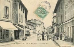 01 - CHATILLON SUR CHALARONNE - GRANDE RUE - Châtillon-sur-Chalaronne