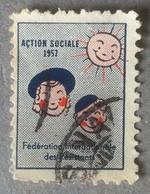 Erinnofilia Francia 1957 - Fédération Internationale Des Résistentes - MNH ** - Unclassified