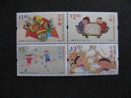 HONG-KONG : TB Série N° 1109 Au N° 1112, En Bloc De 4, Neuf XX. - 1997-... Chinese Admnistrative Region