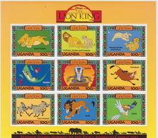 Uganda - MNH - Cartoons - Disney - The Lion King - Disney