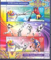 2018. Kyrgyzstan, XVIIIth Asian Sport Games, Jakarta Palembang 2018, S/s, Mint/** - Kirghizistan