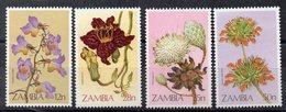 ZAMBIE Timbres Neufs ** De 1983  ( Ref 5933 )   Fleurs - Zambie (1965-...)
