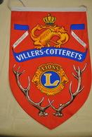 Rare Fanion Lion's Club Le Havre ExpensionVillers-Cotterets - Organizations