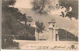 L20J469 - Monaco - Entrée Des Jardins  - MTIL  N°359 - Carte Précurseur - Jardin Exotique