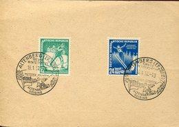 41260 German Ddr, Special Postmark 1952 Altenberg Wintersport Meister. Altenberg Geising - Ski
