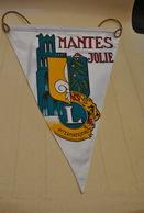 Rare Fanion Lion's Club Mantes La Jolie - Organizations