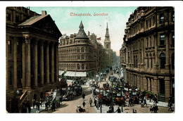 CPA - Carte Postale -Royaume Uni - London-Cheapside - S4814 - Other