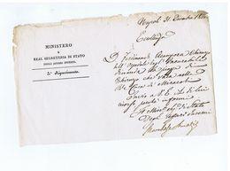 FELICE AMATI ( ROCCASECCA ) LETTERA 1828 - AUTOGRAFO /AUTOGRAPH - Autografi