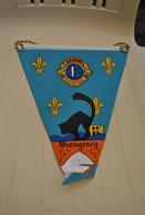 Rare Fanion Lion's Club Beaugency - Organizations