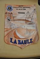 Rare Fanion Lion's Club La Baule - Organisations