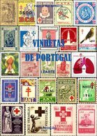 VINHETAS DE PORTUGAL (1ª PARTE), By PAULO RUI BARATA - Fiscaux