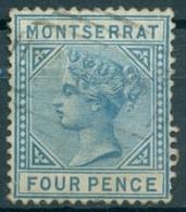Montserrat - 1880 - Yt 4 - Victoria - Oblitéré - Montserrat