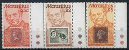 1979 Mauritius, Anniversario Morte Rowland Hill, Serie Completa Nuova (**) - Mauritius (1968-...)