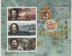 Gambia Expansion Of Colonial Hong Kong Celebrities Map MNH - Geografia