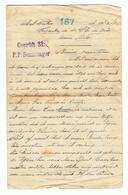 Belgische Militaire Post 1918 Van Een Krijgsgevangene In P.P. Sennelager In Duitsland - Documents Historiques