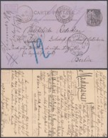 "MADAGASCAR EP 10c ALPHEE DUBOIS  De TANANARIVE  MARITIME ""LA REUNION A MARSEILLE L.V.N°3"" (6G19424) DC-1331 - Covers & Documents"