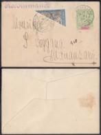 MADAGASCAR EP 5c+YV 101 Demi Timbre De MANANJARY Du 08/05/1910  (DD) DC-1336 - Madagascar (1889-1960)