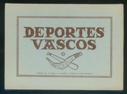 *Deportes Vascos* Ed. Centro Atracción Y Turismo S. Sebastián 1996* Serie Completa 12 Diferentes. - Postales