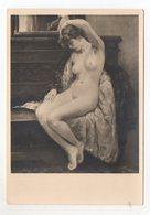 Y9836/ Haus Der Deutschen Kunst HDK 38 Erotik Nackte Frau Foto AK Ca.1935 - Guerre 1939-45
