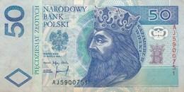 Billet  De Banque  Pologne Polski  50 - Poland