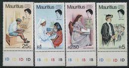 1980 Mauritius, Anniversario Nascita Helen Keller , Serie Completa Nuova (**) - Mauritius (1968-...)