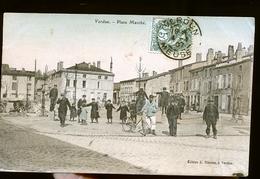VERDUN LA PLACE COLORISEE                  NOUVEAUTE - Verdun