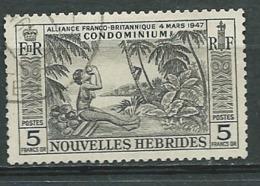 Nouvelles Hébrides - Yvert N° 185   Oblitéré   -  Abc 29712 - French Legend