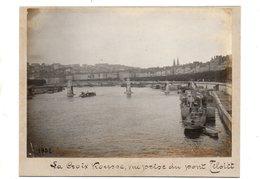Lyon.  La Croix Rousse Vue Prise Du Pont Tilsitt. - Sonstige