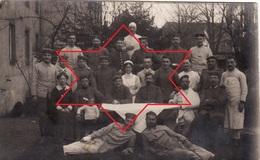 CP Photo Mars 1915 WEISSENBURG - Soldaten Am Kaiser I Reserve Lazarett (A204, Ww1, Wk 1) - Weissenburg
