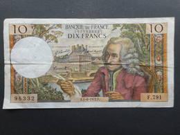 France 10 Francs 1972 Voltaire - 1962-1997 ''Francs''