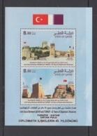1.- QATAR 2018 JOINT ISSUE WITH TURKEY - Qatar