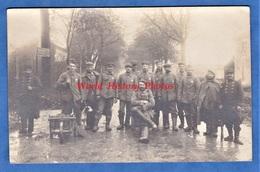 CPA Photo - BON ENCONTRE Prés AGEN - Portrait De Prisonnier Allemand & Garde Français - 1914 1918 Grande Guerre Soldat - Guerre 1914-18