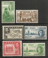 George VI, émission De 1938.  6 Timbres Neufs **   Côte 70,00 Euro - Fidji (1970-...)