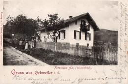 Gruss  Aus GEBWEILER --FORSTHAUS   AX,  (WIRTSCHAFT )  - Guebwiller Maison Forestiere - Guebwiller