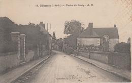CPA Chisseaux - Centre Du Bourg - Frankreich