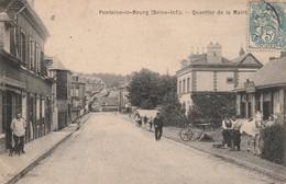 76 Fontaine Le Bourg. Quartier De La Mairie. Marechal Ferrant - Francia