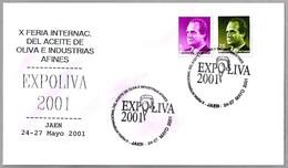 FERIA INT. DEL ACEITE DE OLIVA. EXPOLIVA. Jaen, Andalucia, 2001 - Alimentación