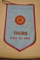 Rare Fanion Lion's Club Tours Rive Du Cher - Organisations