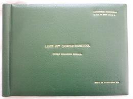 Album 80 Photos-ligne 63 KW Quimper /Rumengol-troncon Douarnenez-construction D'une Ligne Electrique En 1951 - France