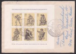 Berlin Zeichnungern Aus Dem Kupferstichkabinett Bf DDR 2347 Klbg. FDC, Briefvorderseite, SoSt. Berlin - DDR