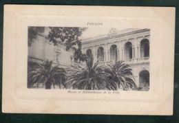 CPA (83) Toulon - Musée Et Bibliothèque De La Ville - Toulon