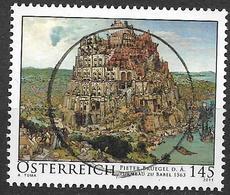 2011  Austria  Mi.  2938  Used   Der Turmbau Zu Babel; Gemälde Von Pieter Bruegel - 2011-... Afgestempeld