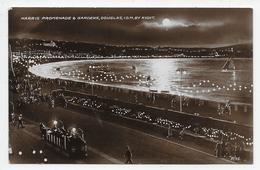 Harris Promenade & Gardens, Douglas, I.O.M. By Night - Valentine R 75 - Isle Of Man