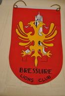 Rare Fanion Lion's Club Bressuire - Organisations