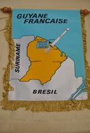 Rare Fanion Lion's Club Guyane Française - Organisations