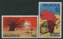 1975 Mauritius, Lotta Carestia , Serie Completa Nuova (**) - Mauritius (1968-...)