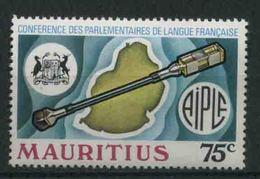 1975 Mauritius, Conferenza Lingua Francese , Serie Completa Nuova (**) - Mauritius (1968-...)