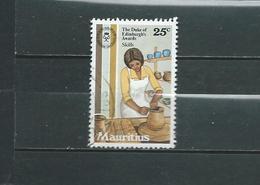 Timbre Oblitére De L'ile MAURICE - Maurice (1968-...)